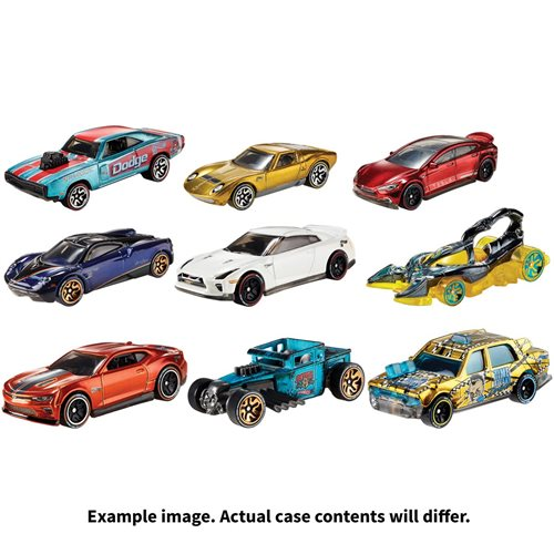 Hot Wheels id 1:64 Scale Vehicle 2019 Wave 5 Case
