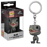 Jurassic World Velociraptor Blue Pocket Pop! Key Chain