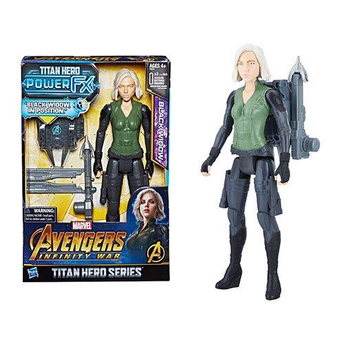 Infinity War Titan Hero Series Black Widow Hasbro Marvel Avengers