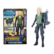 Avengers: Infinity War Titan Hero Power FX Black Widow 12-Inch Action Figure