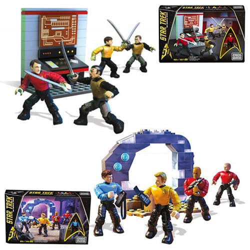 Star Trek: TOS Mega Bloks Team Figure Pack Case