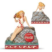 Coca-Cola Bathing Beauty Blonde Statue by Jim Shore