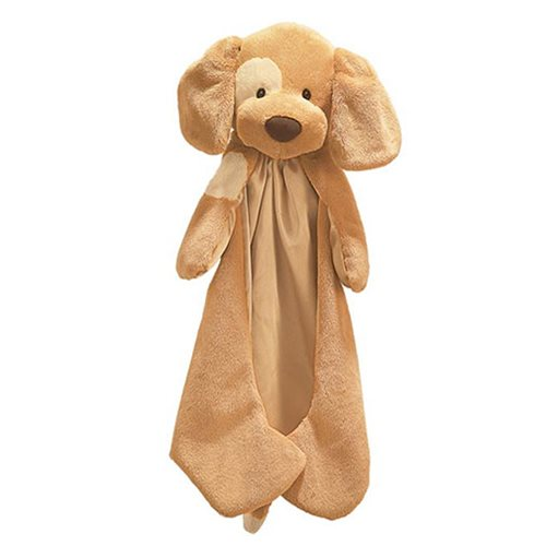 Spunky Dog Huggybuddy Brown Plush Blanket