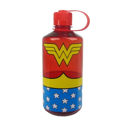 Wonder Woman Uniform 1 Liter Plastic Water Bottle