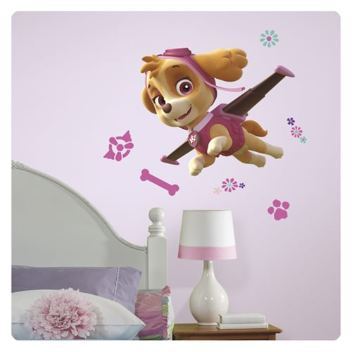 Paw Patrol Skye Peel and Stick Giant Wall Decal