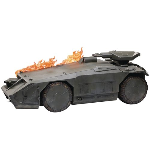 Aliens Burning Armored Personnel Carrier 1:18 Scale Vehicle - Previews Exclusive