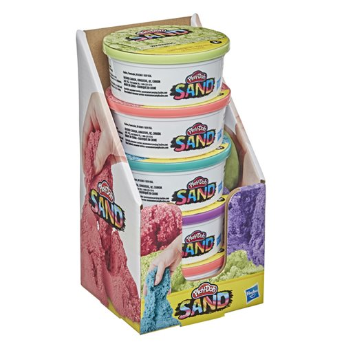 Play-Doh Sand Single 6-Ounce Can Wave 1 Case