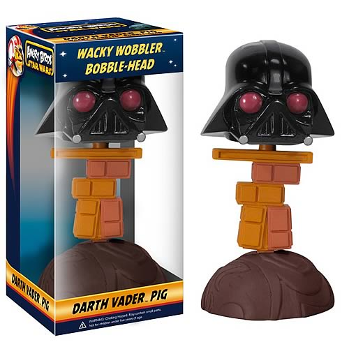 Star Wars Angry Birds Darth Vader Piggy Bobble Head