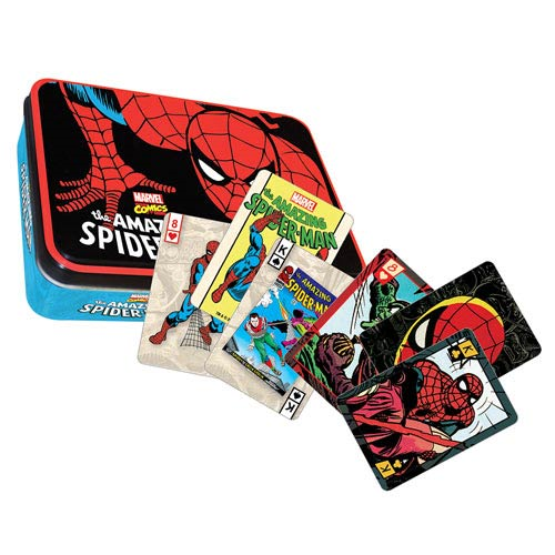 Spider-Man Marvel Comics Playing Card Tin