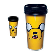 Adventure Time Jake the Dog Plastic Travel Mug
