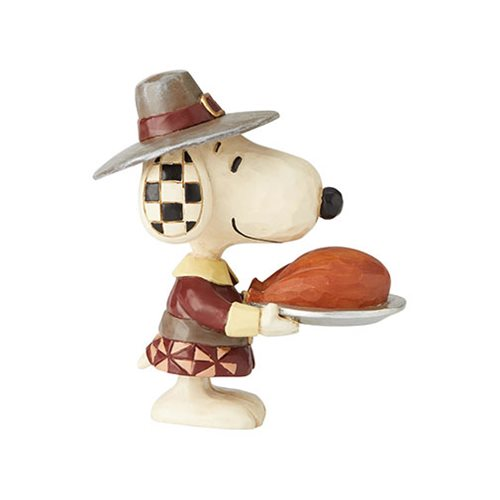 Peanuts Snoopy Pilgrim by Jim Shore Mini-Statue