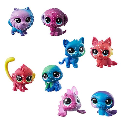 Littlest Pet Shop Cosmic Pounce BFFs Mini-Figure Wave 1 Set