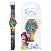 Beauty and the Beast Belle Stained Glass Final Frame LED Watch