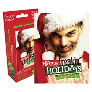 Bad Santa 100-Piece Pocket Puzzle