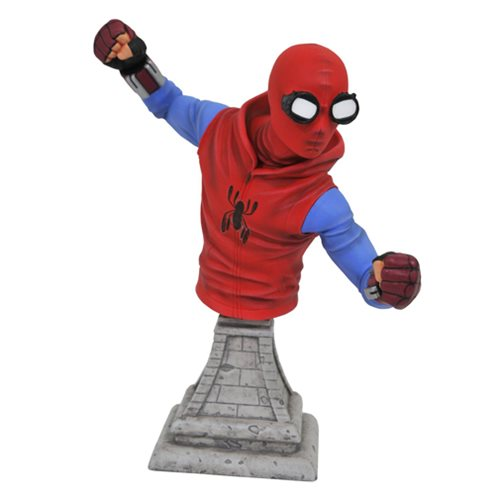 Spider-Man Homecoming Homemade Costume Spider-Man Bust