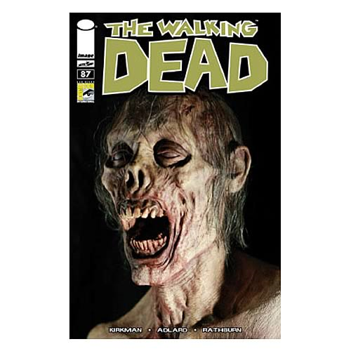 Walking Dead #87 SDCC 2011 Exclusive Comic