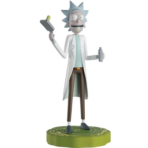 Rick and Morty Rick Sanchez Figure with Collector Magazine