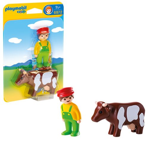Playmobil 6972 Farmer with Cow