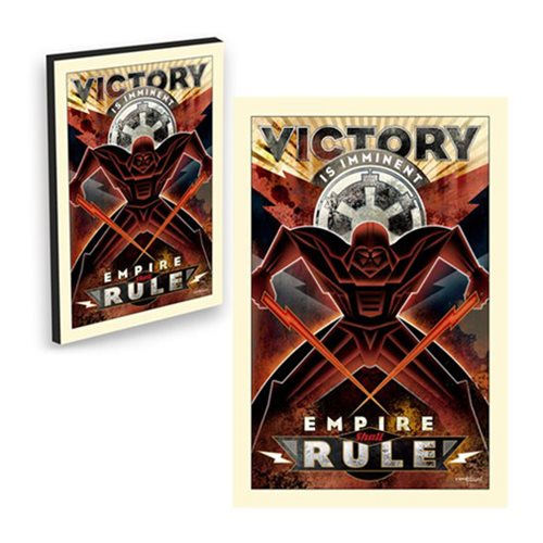 Star Wars Victory Is Imminent by Mike Kungl Canvas Giclee Gallery-Wrapped Art Print