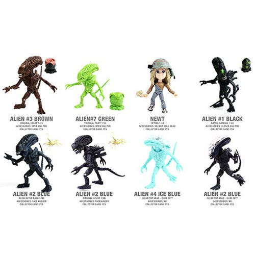 Aliens Action Vinyls Wave 1 Random 4-Pack