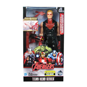 Avengers Titan Heroes Hawkeye Deluxe Electronic Action Figure - Entertainment Earth Exclusive, Not Mint