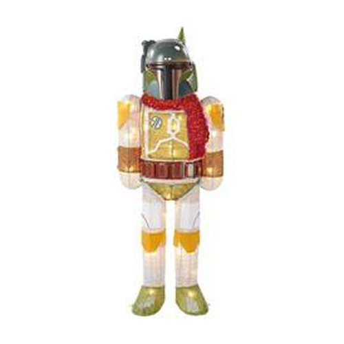 Star Wars Boba Fett w/ Scarf 28-Inch Light-Up Tinsel Display