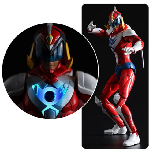 Infini-T Force Polimar Fighter Gear Version Tatsunoko Heroes Fighting Gear Action Figure