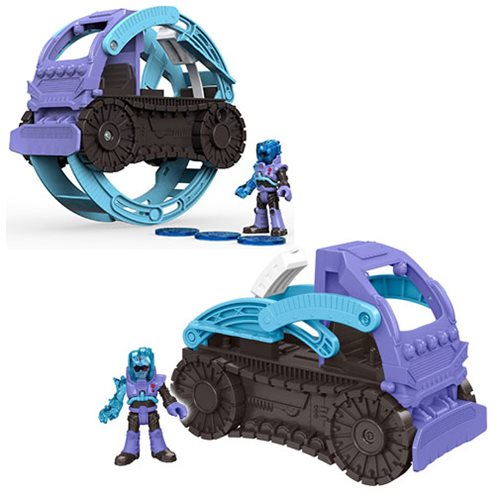 DC Super Friends Imaginext Mr. Freeze Snowcat Vehicle