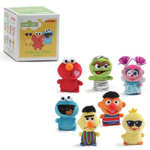 Sesame Street Blind Box Series 1 Plush Random 4-Pack