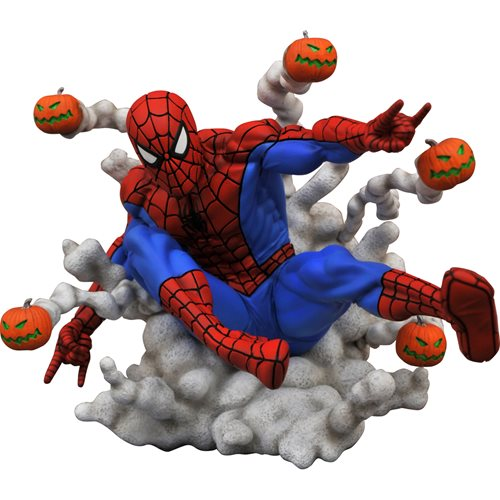 Marvel Gallery Pumpkin Bomb Spider-Man Statue