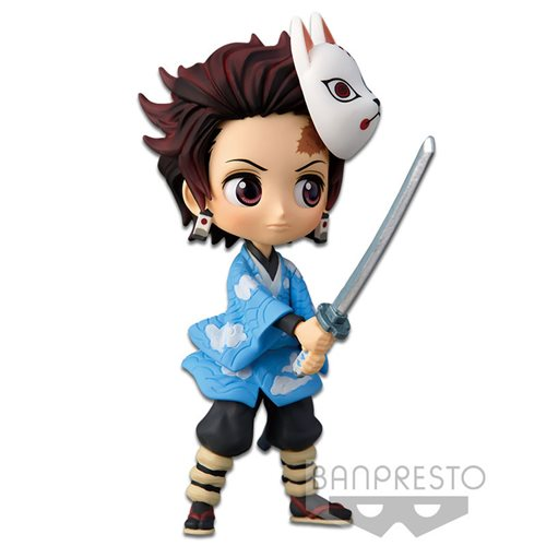 Demon Slayer Tanjiro Kamado Vol. 1 Petit Q Posket Statue