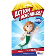 Action Bendables Mermaid 4-Inch Bendable Action Figure