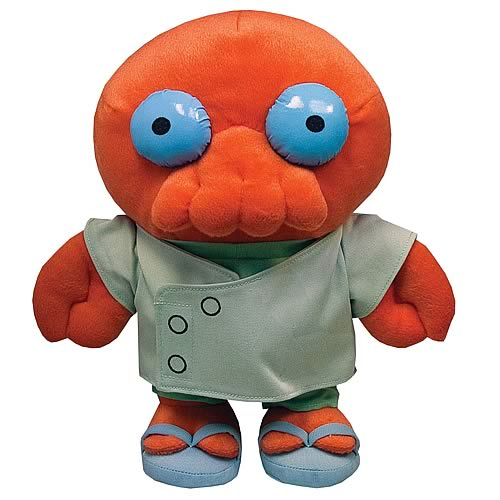 Futurama Series 1 Dr. Zoidberg Plush