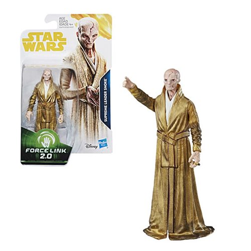 Star Wars Solo Force 2.0 Link Supreme Leader Snoke Action Figure