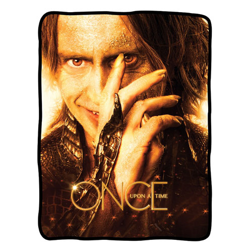 Once Upon a Time Rumplestiltskin Fleece Blanket