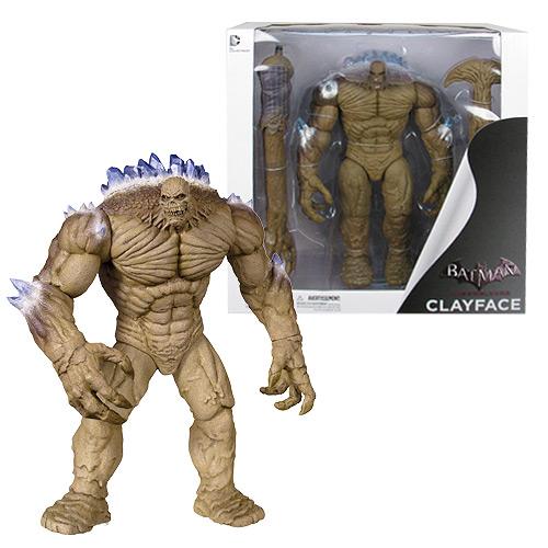DC Collectibles Batman Arkham City Clayface Deluxe Action ...  |Clayface Action Figure