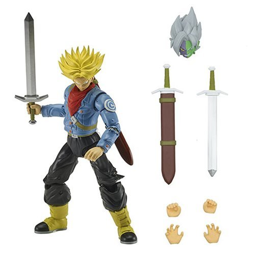 Dragon Ball Stars Super Saiyan Future Trunks Action Figure