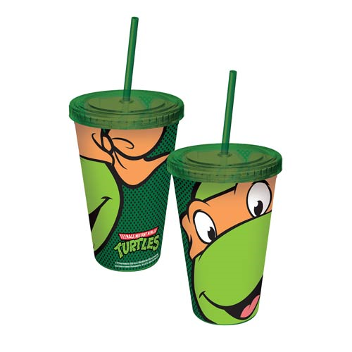 Teenage Mutant Ninja Turtles Michelangelo Travel Cup