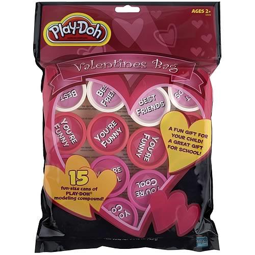 Play Doh Valentines Bag Set
