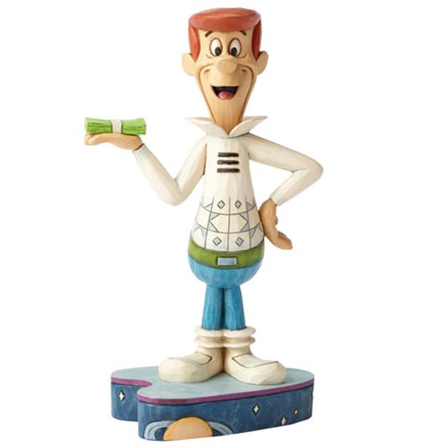 The Jetsons Hanna Barbera Jim Shore George Jetson Statue