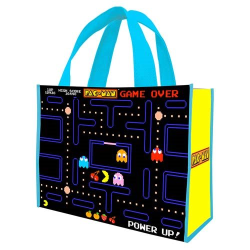 Pac-Man Large Recycled Shopper Tote