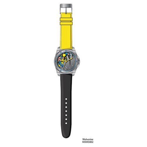 Wolverine Yellow and Black Strap Watch