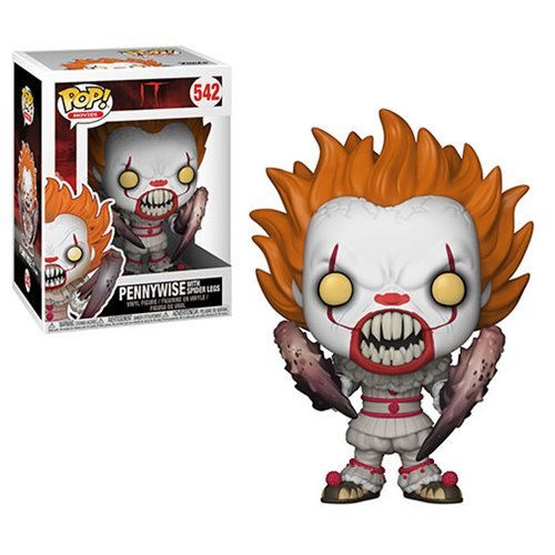 It Pennywise Spider Legs Pop! Vinyl Figure, Not Mint