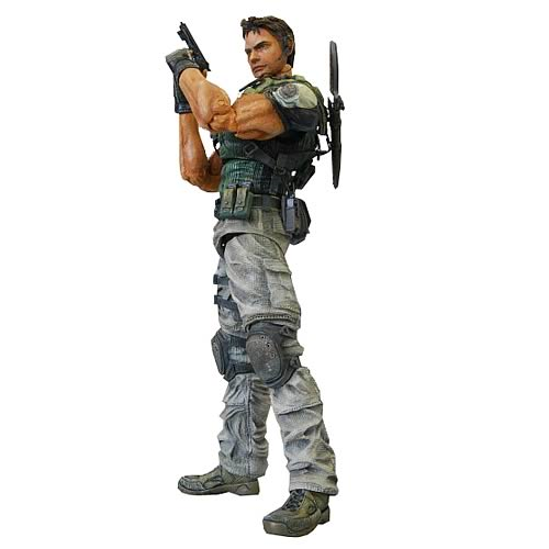 Resident Evil 5 Chris Redfield Play Arts Kai Action Figure