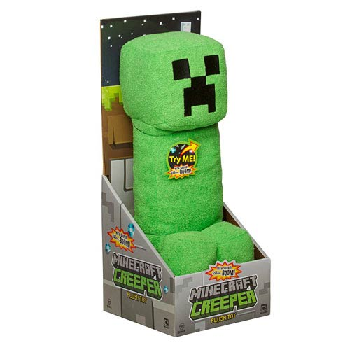 Minecraft Creeper Talking Plush