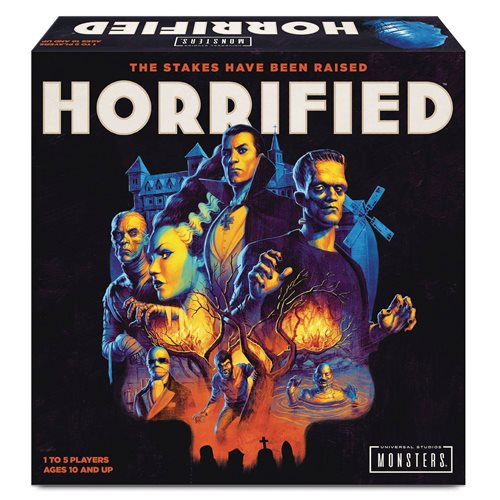 Horrified Tabletop Game