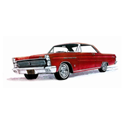Mercury Comet 1965 Cyclone 1:25 Scale Model Kit