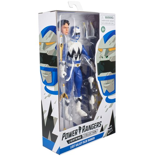 Power Rangers Lightning Collection Lost Galaxy Blue Ranger 6-Inch Action Figure