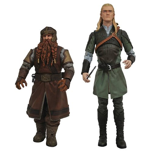 Lord of the Rings Select Series 1 Action Figure Set