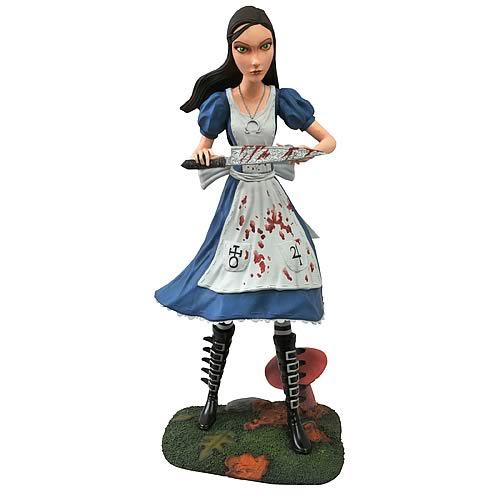 Femme Fatales Alice Madness Returns Statue